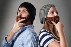 Bart-Mützen der neueste Schrei in den USA   StricklInge