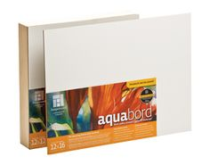 Aquabord - The Amazing Watercolor Surface! - Ampersand Art Supply (800) 822-1939