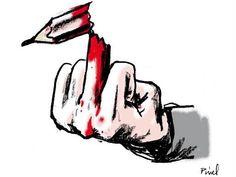http://www.elle.fr/Societe/News/Charlie-Hebdo-les-illustrateurs-du-monde-entier-rendent-hommage-au-journal/Herve-Pinel-illustrateur-francais