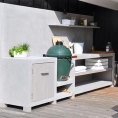Ideas Backyard Bbq Area Ideas For 2019 Outdoor Rooms, Outdoor Gardens, Outdoor Living, Outdoor Cooking Area, Bbq Kitchen, Kitchen Ideas, Bbq Area, Backyard Patio, Cool Kitchens