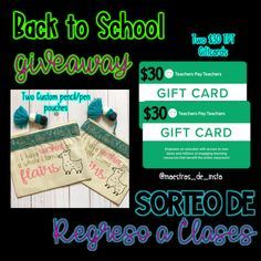 Maestras De Instagram Back to School Giveaway