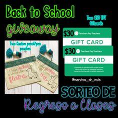 Maestras De Instagram Back to School Giveaway