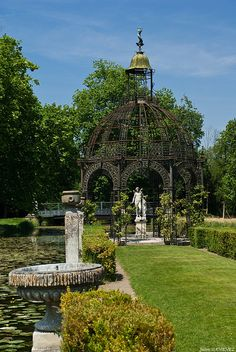 Ile d'Amour, Château de Chantilly, France