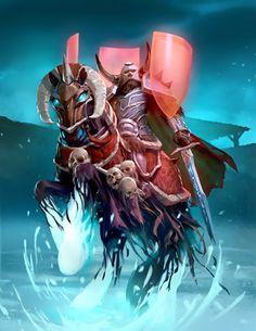 Card Name: Boneguard Lieutenant Artist: Slawomir Maniak