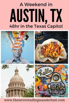 A Weekend in Austin.  48 Hours in the Texas State Capitol. Travel in North America.