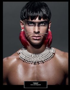Aquarelle: Is Tribal War Face Paint the New Native American Headdress?615 x 800 | 81.4 KB | aquarellebleue.blogspot.com