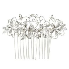 EVER FAITH Wedding Hibiscus Flower Vine Hair Comb Clear A... https://www.amazon.com/dp/B00M4WX734/ref=cm_sw_r_pi_dp_x_byoPyb6RZ35Q2