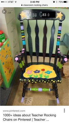 the ugly chair tupelo ms hours massage zero gravity 176 best organizing classroom images decor maybe i should repaint my rocking think another summer project has just emerged