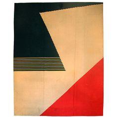 Vintage #art deco rug design