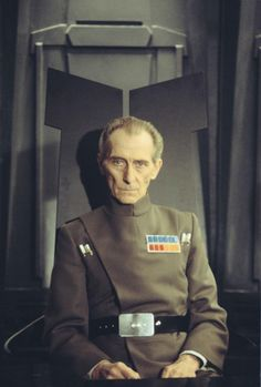 Peter Cushing as Grand Moff Tarkin - the most badass Imperial officer.