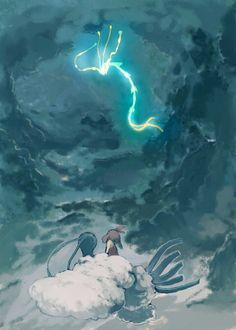 May and Altaria Encounter Rayquaza