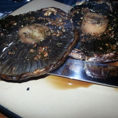 Grilled Portabella Mushroom Steak