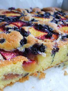 Twoje: Słoneczne ciasto z owocami. Superszybkie ciasto ucierane.