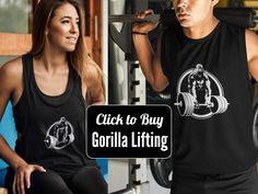 TSHIRTS AND TANK TOPS AND FITNESS GEAR AVAILABLE AT http://strongbydesignshirts.com  #Fitness, #crossift, #crossfit, #gorilla, #Lifting, #weightlifting, #gym t-shirt, #fitness t-shirt, #sweat, box, #wod, #paleo, keto, #fitness inspiration, #oly lifting, #deadlift, #pushups, #pull-ups, #gym gift, #running, #biking, cycling, #weight loss,#muscles, #muscle tee, #fitness tee, #fit, #fat, #lose it, #strength, #strong, #badass tee, #gorilla lifting, #gorilla fitness, #beast mode