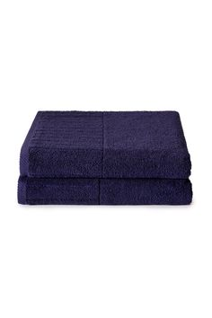Luxury 2-Pack Bath Towels: 100% Certified Organic Cotton