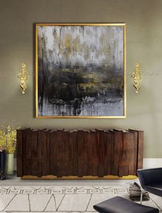 abstract oil painting art hand made large art extra large wall art