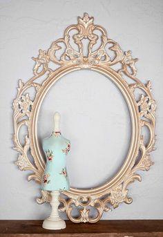 Frame Makeover using Metallic Lustre