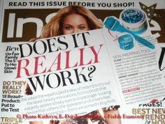 """If you have picked up the September issue of """"InStyle"""" magazine and are curious about the blue Rodan + Fields AMP MD micro-needle roller pictured in the upper right-hand corner on page 423 in the article """"Does It Really Work?"""" I would love to answer any questions you might have.  """"InStyle"""" gave the Rodan + Fields micro-channel roller a highly favorable review, and their verdict was, yes, it really works!"""