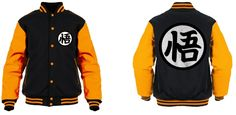 Goku's Dragon Ball Varsity Jacket