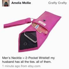 DIY- Tie Wristlet