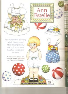 MARY ENGLEBREITS | Ann Estelle paper doll 8 | Flickr - Photo Sharing!