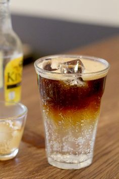 Tonic + espresso. Great for summer!