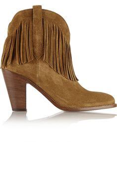 Saint Laurent boot, $1,195, netaporter.com.   - HarpersBAZAAR.com