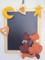 lavagna ardesia con gattini innamorati Album Scrapbook, Blackboards, Tole Painting, Big Shot, Decoupage, Sweet Home, Creations, Shabby, Fancy