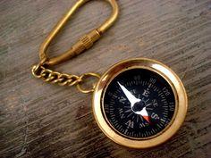 Weiteres - Alter Kompass - Schlüsselanhänger - ein Designerstück von VillaSorgenfrei bei DaWanda