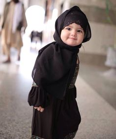 Hijab baby. @rozitachewan1 daughter.