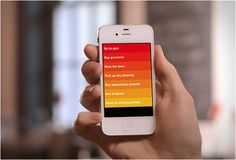 Clear App for iPhone is To-do List with Minimalist, Intuitive UI Evernote, To Do App, App Marketing, Todo List, Simple App, Iphone App, Technology Gadgets, Tech Gadgets, Interface Design