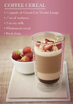 Coffee Cereal is a delicious all-in-one breakfast creation to take on the go with you! The fresh fruity flavors within this coffee creation make it the ideal way to start any day of the week.