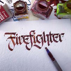 "Polubienia: 480, komentarze: 13 – Philipp Ste (@pstlu) na Instagramie: ""Firefighter Back to #Parallelpen #callinuary #callinuary2018 #firefighter"""