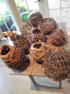 random weave twig basket - Google Search