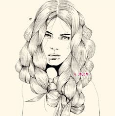 Manuel Rebollo Fashion Illustrations
