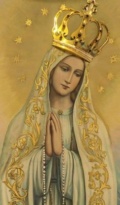 Religious Pictures, Jesus Pictures, Pictures To Draw, Blessed Mother Mary, Blessed Virgin Mary, Catholic Art, Religious Art, Jesus Christ Images, Lady Of Fatima