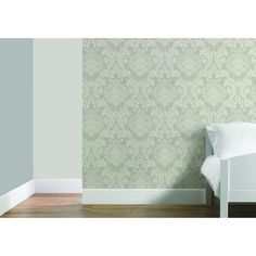 Wilko Best Damask Silver/White W.Paper at wilko.com