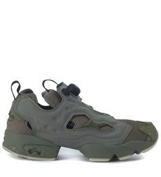 3f93888a31dd REEBOK REEBOK INSTAPUMP FURY MTP HUNTER GREEN SNEAKER.  reebok  shoes