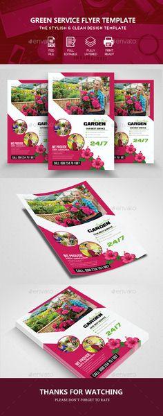 Gardening Service Flyer - Corporate Flyers