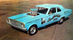 Quarterbender Dodge Dart Funny Car