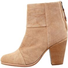 Rag & Bone Newbury Canvas Ankle Bootie ($475) ❤ liked on Polyvore featuring shoes, boots, ankle booties, zapatos, short boots, camel boots, rag bone boots, high heel ankle booties and canvas ankle boots