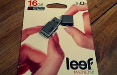 V predaji exkluzívne flashdisky LEEF!