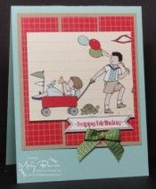 Storybook Friends dsp with Itty Bitty Banners & Bitty Banners framelits. Thanks Mary!