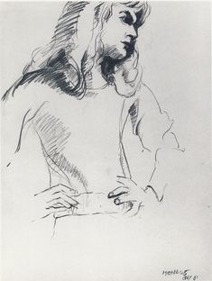 The Art of Ofey: Richard Feynman's Little-Known Sketches & Drawings | Brain Pickings