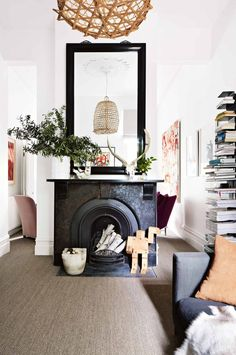 fireplace-mirror-books-nov14