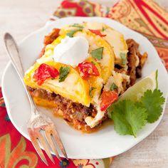 Mexican Polenta Pie Recipe on Yummly. @yummly #recipe