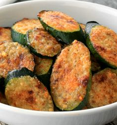 Try these fast, easy and flavorful Parmesan zucchini bites today—they're perfect for any occasion! - Everyday Dishes & DIY