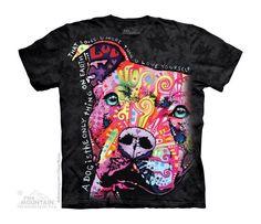 Kids Thoughtful Pitbull T-Shirt
