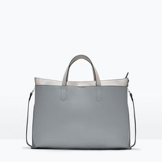 COMBINED CITY BAG WITH BUCKLE from Zara Fashion food and