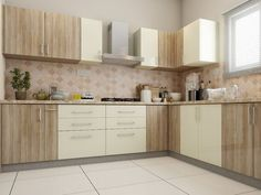 Many ideas can be considered if you want to make U-shaped kitchen layout. #KitchenRemodel #KitchenDesign #Kitchen